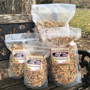 Edwin Evers Oklahoma Grown Farm Shelled Pecans 1 - 7 lb. Bags