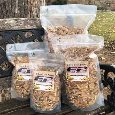 Edwin Evers Oklahoma Grown Farm Shelled Pecans 2 - 7 lb. Bags