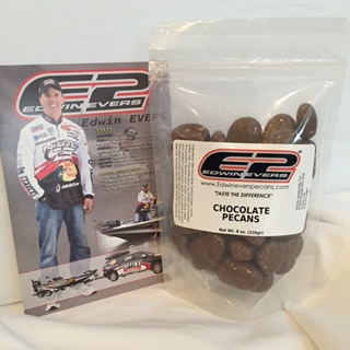 Edwin Evers Oklahoma Grown Milk Chocolate Covered Pecans 8 oz.