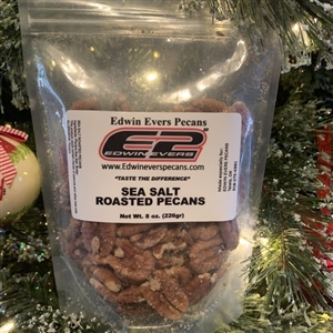 Edwin Evers Oklahoma Grown Sea Salt Roasted Pecans 8 oz.