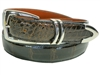 "Alligator Belt 1 3/16"" with Scottsdale Silver-Plated Buckle Set"