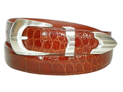 "Alligator Belt 1 3/16"" with Mojave Buckle Set"