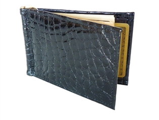 Alligator Thin-Clip Wallet