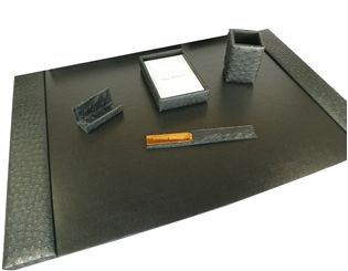 Ostrich 5-Piece Desk Set