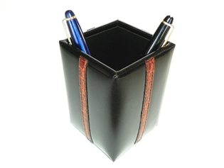 Alligator Accents Pencil Cup