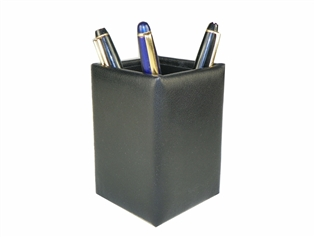 British Lamb Leather Pencil Cup