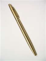 657 Time-In-Hand Planner - Matte Gold-Tone Pen
