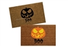 Boo Pumpkin Custom Doormat by Killer Doormats