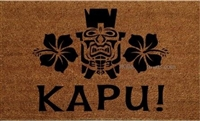 Kapu! Custom Doormat by Killer Doormats
