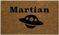 Martian Custom Doormat by Killer Doormats