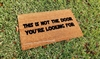 This Is Not The Door You're Looking For Custom Handpainted Fandom Doormat by Killer Doormats, Version 4