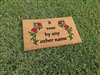 A Rose By Any Other Name Custom Doormat by Killer Doormats