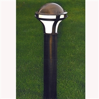 Giardino Aged Brass Path and Garden Light by Aldo Bernardi