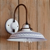 Provenza Ceramic One Light Interior Sconce by Aldo Bernardi