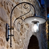 Otello Large Aged Brass Interior/Exterior Sconce by Aldo Bernardi