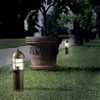 LAR.194/40/B Attila Aged Brass Path and Garden Light by Aldo Bernardi