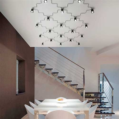 Item: SGA/../.. Grafico Modular Lighting System by Aldo Bernardi