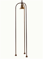 SUN2.M.O Bouganville Aged Brass Outdoor Floor Lamp by Aldo Bernardi