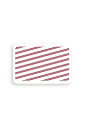 Manual Expiring TIMEbadge Adhesive Backpart - Half-day / One Day Expiration.  Pkg of 500.