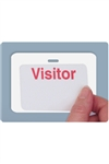 "Reusable Cardbadge 3"" X 3"".  Pkg of 500."