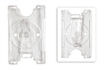 Clear Semi-rigid Convertible Card Holder (QTY 100)