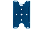 Blue Semi-rigid Convertible Card Holder (QTY 100)