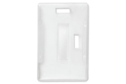 Milky White Semi-rigid Convertible Card Holder (QTY 100)