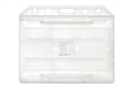 Clear 2-sided Horizontal Multi-card Holder (QTY 100)