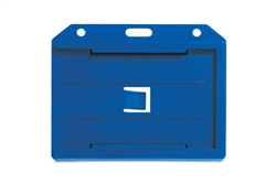 Blue 2-sided Horizontal Multi-card Holder (QTY 100)