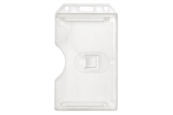 Clear 2-sided Vertical Multi-card Holder (QTY 100)