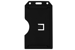 Black 2-sided Vertical Multi-card Holder (QTY 100)