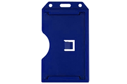 Blue 2-sided Vertical Multi-card Holder (QTY 100)