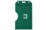 Green 2-sided Vertical Multi-card Holder (QTY 100)
