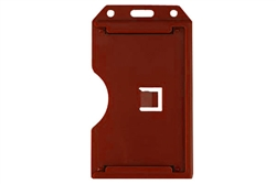 Red 2-sided Vertical Multi-card Holder (QTY 100)