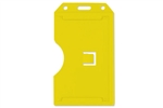 Yellow 2-sided Vertical Multi-card Holder (QTY 100)