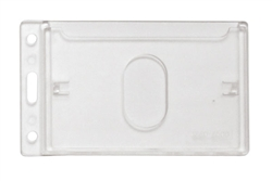 Frosted Vertical Rigid Plastic Card Dispenser (QTY 100)