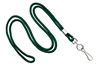 "Forest Round 1/8"" Standard Lanyard W/ Nickel Plated Steel Swivel Hook (100 Quantity)"
