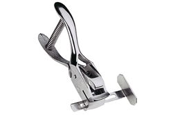 Hand-Held Slot Punch w/Adjustable Guide