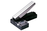 Stapler-Style Slot Punch w/Adjustable Guide