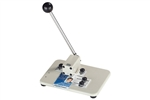 Medium Manual Table Top Slot Punch w/Adjustable Guide