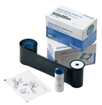 Datacard 532000-053 Black Monochrome High Quality Ribbon Kit - K HQ - 1,500 prints