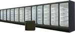 12 Door Endless Glass Display Cooler, AA Store Fixtures