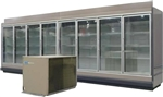 8 Endless Glass Display Cooler, AA Store Fixtures