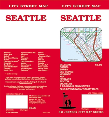 SEATTLE CITY STREET MAP