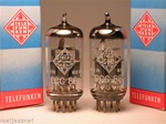 TELEFUNKEN PCC88 for 6DJ8 6922 E88CC DIAMOND Matched Pair