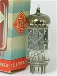 Telefunken ECC802S 12AU7 WEST GERMANY PERFECT SINGLE TUBE 1953