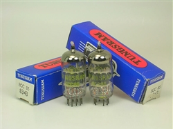 ECC85 TUNGSRAM NOS MATCHED PAIR AMPLITREX TESTED STRONG