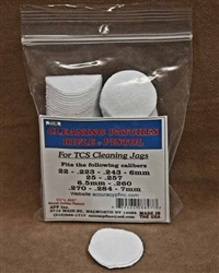 TCS Cleaning Patches 22 Caliber- 7mm