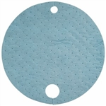 "Oil-Only DrumTop Pads (Heavy Wt), 23"", 25/pkg"