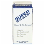 "SuperSorb Loose Sorbent 4"" x 4"" x 8.5"", 12/pkg"